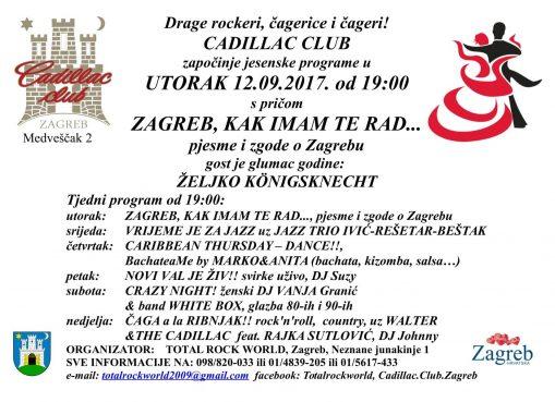 Letak Zagreb, kak imam Te rad 12.09.2017