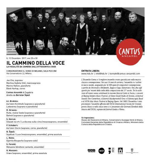 Pozivnica 2017 Milano